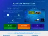 Netvisiteurs.com: Gagnez 600 visites par heure gratuitement et automatiquement! Autosurf n°1. Nouvelle visionneuse sans frame! Augmentez votre traffique. - Accueil - Le webmestre