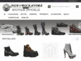 New rock store boutique officiel France