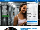 Nomadou.com - Rencontre en métro, RER, TER, TGV, Avion et Bus