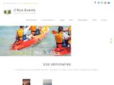 OBOX Events Agence communication événementielle Vendée Paris seminaire