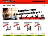 Boutique de vente de materiel de fitness d'occasion