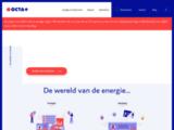 Distributeur electricite verte gaz mazout station service Belgique