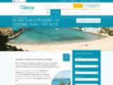 Village de vacances en bord de Mer en Provence Méditerranée