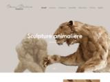 Sculpture, Animaux, Carton, Art, Animalier, Contemporain, Olivier, Bertrand, France
