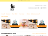 Boutique en ligne d'accessoires pour chat