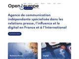 Agence de relations presse - Open2Europe