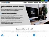 Créer un site : webmaster web-designer pour vos créations de sites, design, flyers, bannières...