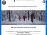 Stages ski de randonnée et stage cascade de glace dans les Hautes-Alpes : ski de randonnée Briançon, ski de rando Queyras, ski de randonnée Névache Clarée, ski de rando Meije, ski de randonnée massif des Ecrins.