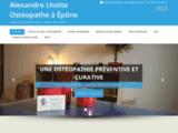 Lhotte Alexandre Ostéopathe DO exclusif à Épône - 6 avenue de la Mauldre, Epone , 06 65 92 58 74