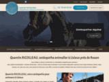 Ostéopathe animalier Lisieux – Chien, cheval Rouen | QUENTIN RICOLLEAU