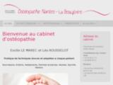 Emilie Le Marec, ostéopathe à Nantes La Beaujoire