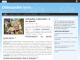 Osteopathe lyon