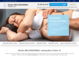 Dimitri WOJTAKOWSKI : ostéopathe à Paris