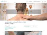 Ostéopathe Lausanne, Pascal Michaud
