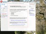 Page Premiere : page d'accueil Internet (site web, contact, agenda, RSS, memo)