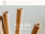 Pailles en bambou réutilisables et biodégradables