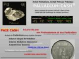 Achat Palladium, Achat Métaux Précieux