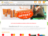 ParaDiscount - Parapharmacie discount en ligne - Parapharmacie en ligne - Para pas cher