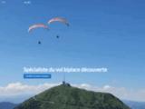 Aéroparapente, vols et baptême de parapente en Auvergne