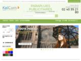 Parapluie publicitaire – une gamme complète de parapluies publicitaires par KelCom.