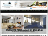 Rénovation Paris | AGT Bat 01 42 05 40 48 | paris-renovation.net