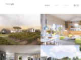 Architecture, urbanisme, infographie, 3d, freelance, dao, 3d studio, vray, autocad, photoshop, volet paysage, concours d