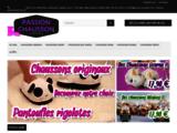 Tous les chaussons et pantoufles à portée de clic - Passion-Chausson.com