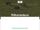 Entreprise d'éco-pâturage   Pâtures&co