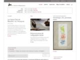 calligraphie, poésie, figuratif, abstrait, écriture