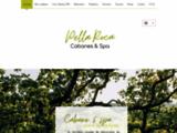cabane spa - glamping France - cabane dans les arbres