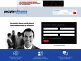 Peopleinfinance, réseau social pour les professionnels de la finance