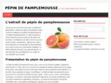 Pépin de pamplemousse : site d'information officiel