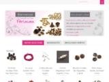 ♥ Perlasara - Boutique en ligne de Vente de Perles. Perle Métal, Fantaisie, Swarovski, Facette