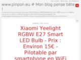 www.pinpon.eu # Mon blog pense bête !