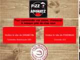 Pizz'Adishatz - Pizzas à emporter Jurançon - Idron - Pau