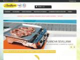 sevillana fabricant français de plancha gaz inox à prix usine - Plancha sevillana