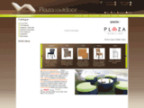 Plaza Outdoor mobilier terrasse et jardin