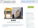 Plv carton | Vos presentoirs carton | fabricant de plv en carton