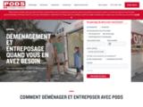 PODS Quebec | Conteneur de déménagement & entreposage à Montréal