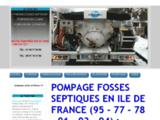 Pompage fosse septique Valmondois | 320€ TTC