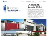 Portails et portes de garage dans l'Indre-et-Loire chez P. Larivière.