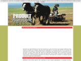 Vente de produits agricoles paysans