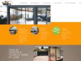 Pose portail clôture porte de garage rénovation Tours (37) - Projet H