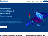 Dépannage informatique à domicile intervention assistance maintenance
