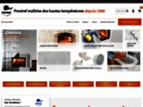 Isolation thermique : Matériaux réfractaires et isolants thermiques - PROSIREF