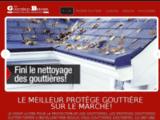 Protège Gouttières, Chapeau Gouttière GutterTopper - Bernier