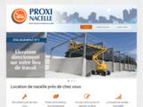 PROXI NACELLE, le réseau français spécialiste de la location de nacelle