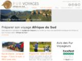 voyage et safari Afrique du Sud avec Pur Voyages