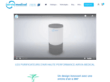 Purificateurs d'air haut de gamme AIRVIA MEDICAL