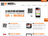 QR MAKER | Solution gestion de campagnes QR Codes + Mobile